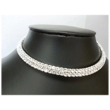 2 Row Diamonti Choker
