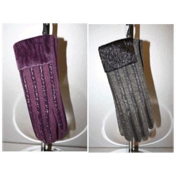 Patent Felt Glove