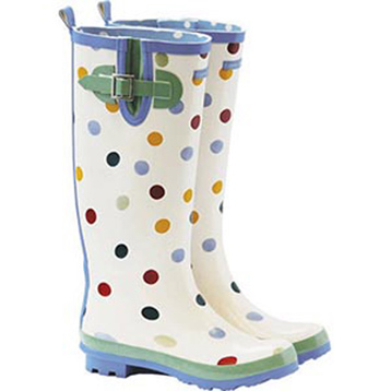 Polka Dot Wellington Boot